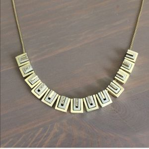Gorgeous Madewell geometric necklace